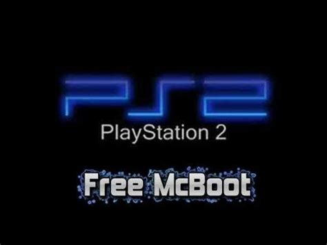 how to install free mc boot most slim ps2 youtube