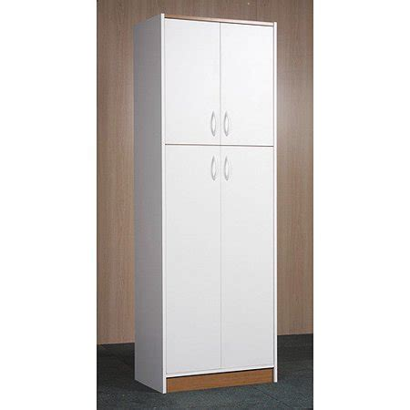Orion 4 Door Kitchen Pantry, White   Walmart.com