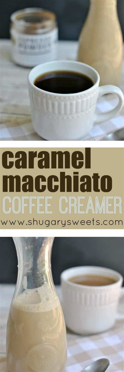 The health benefits in coffee are great but the creamer maybe not so much! Caramel Macchiato Coffee Creamer   Recipe   Coffee creamer recipe, Homemade coffee creamer ...