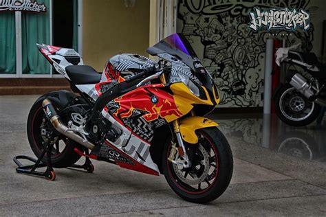 Red Bull Bmw S1000rr 2017 Custom  Bigbike Design By
