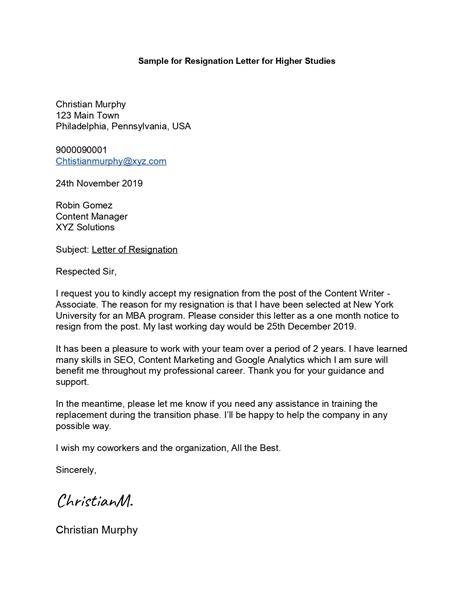 Sample-for-Resignation-Letter-for-Higher-Studies_page-0001 - Leverage Edu