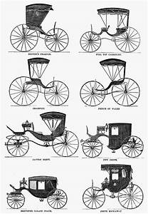 Carriage Types, C1860 Photograph by Granger