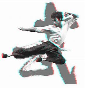 Bruce Lee Flying Kick 3-D conversion by MVRamsey on DeviantArt