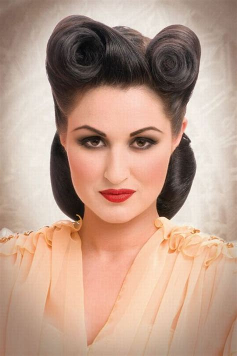 rockabilly frisuren coole ideen  retro