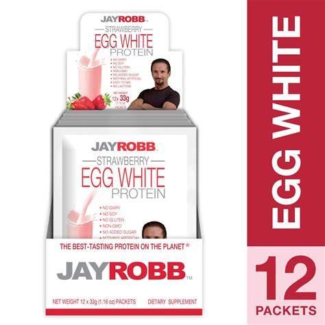 Amazon.com: Jay Robb - Egg White Protein Powder