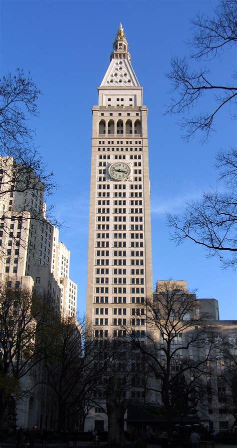 metropolitan life tower  skyscraper center