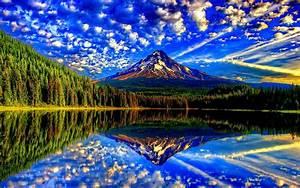 Beautiful, Hd, Wallpaper, Blue, Sky, And, White, Cloud, Rock