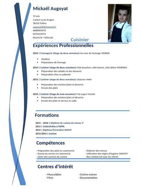 diplome cuisine cv pdf par chris fichier pdf