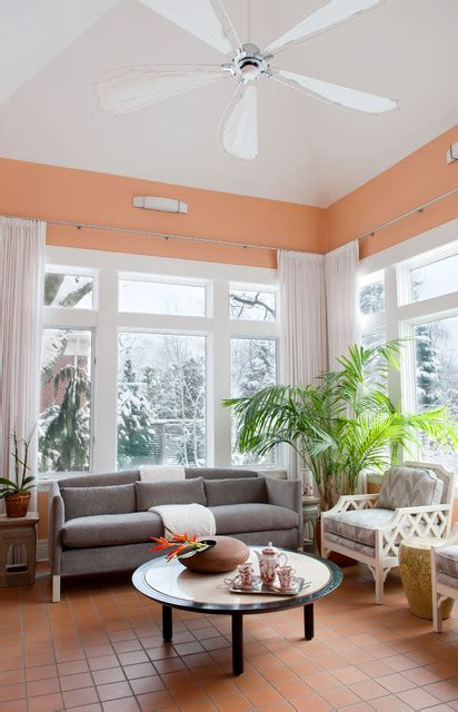soft peach color walls  sophisticated interior