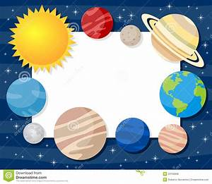 Planet clipart background - Pencil and in color planet ...