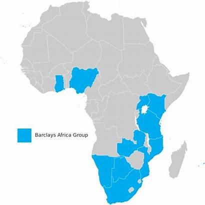 Barclays Africa Map Absa Svg Bank Limited