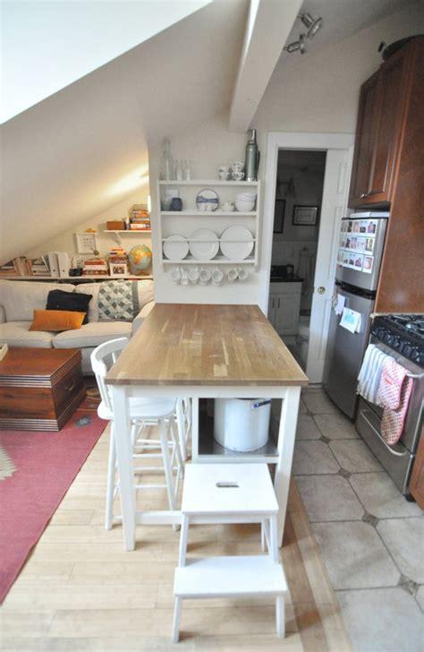attic apartments elizabeth nick s attic apartment in manhattan attic house tours and manhattan