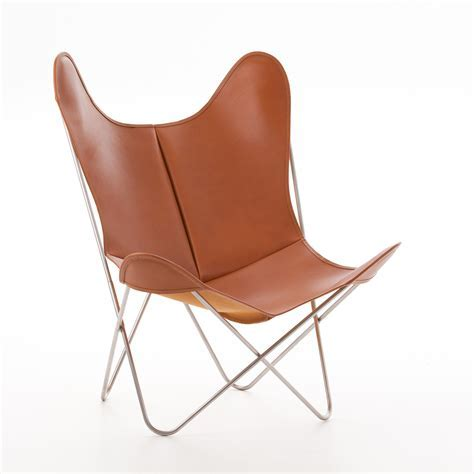 AA by Airborne Butterfly Chair Fauve, Leder