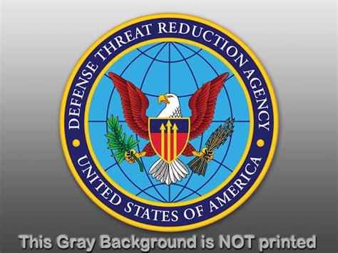 Round Dtra Seal Sticker Decal Logo Usa Defense Agency