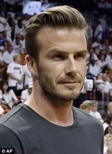 David Beckham and Robert Pattinson lead trend for men ...