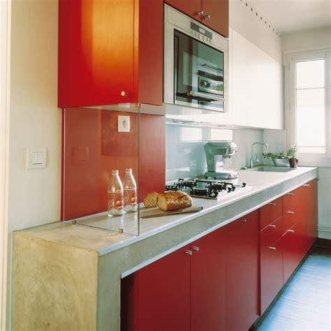 cuisine en longeur aménagement d 39 une cuisine les règles de base à respecter
