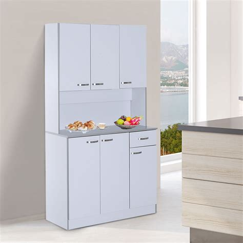 Kitchen Pantry Cabinets Freestanding White ? Quickinfoway