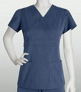 Grey's Anatomy Signature 3 Pocket Mock Wrap Tab Back 2153 ...