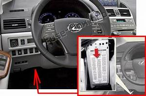 Fuse Box Diagram  U0026gt  Lexus Hs250h  2010