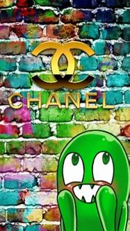 Chanel brick wall wallpaper by societys2cent - be - Free ...