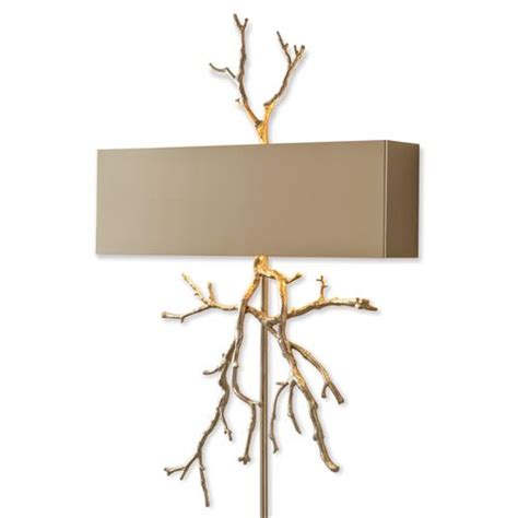 Hardwired Sconce by Bijou Tree Branch Regency Nickel Hardwired Wall