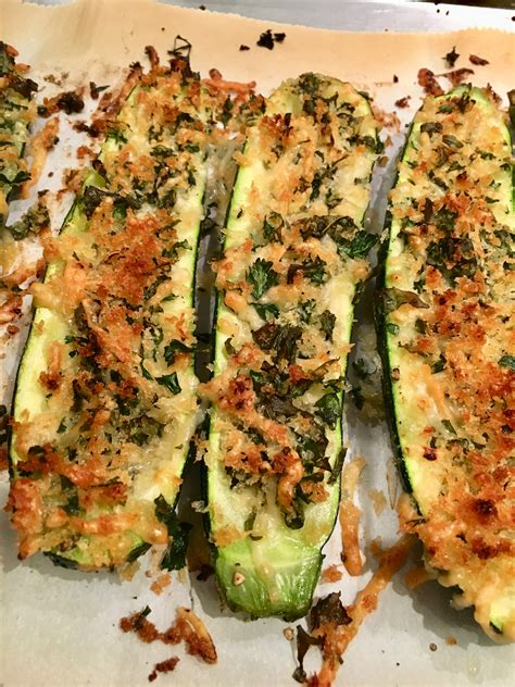 Parmesan Roasted Zucchini Blythes Blog