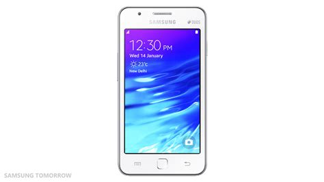 samsung z1 officially launched in india running tizen priced at rs 5 700 sammobile sammobile