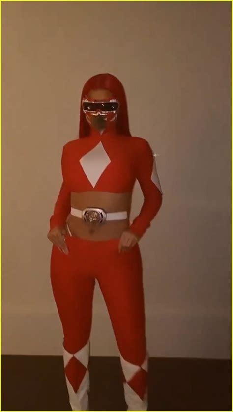 kylie jenner dresses  red power ranger   friends