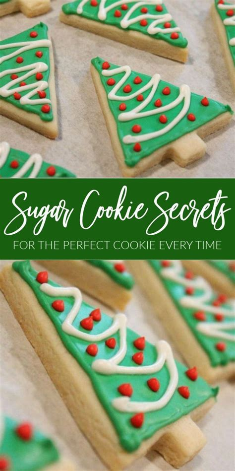 Cookies are nicely crisp, with a touch of tenderness. Cutout Sugar Cookie Recipe SECRETS for Perfect Cookies ...