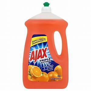 Ajax 90 oz. Triple Action Orange Liquid Dish Soap-49874 ...  Ajax