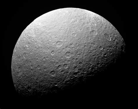 Saturn Moon Loses Its Ring Gains A Mystery