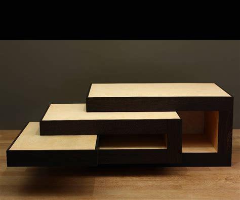 modular coffee table design reinier de jong