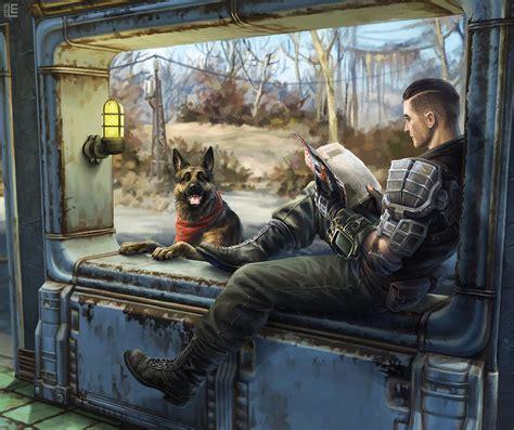 Sole Survivor Fallout Fan Art Dogmeat Fan Tributes