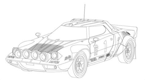 Tokyo Drift Car Coloring Pages