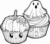 Cupcake Halloween Cupcakes Drawing Cake Coloring Clipart Clip Transparent Cartoon Cup Drawings Ausmalbilder Ausmalbild Draw Bakery Baking Certificate Deviantart Template sketch template