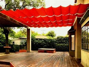 Pergola, Simple, Patio, Retractable, Deck, Shade, Inexpensive, Ideas, Canopy, Metal, Covers, For