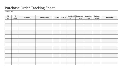 purchase order sample template costumepartyrun