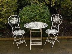 Garden Table And 2 Chairs Set by Details About Folding Metal Garden Furniture 2 Chairs Oval Table Bistro Set C