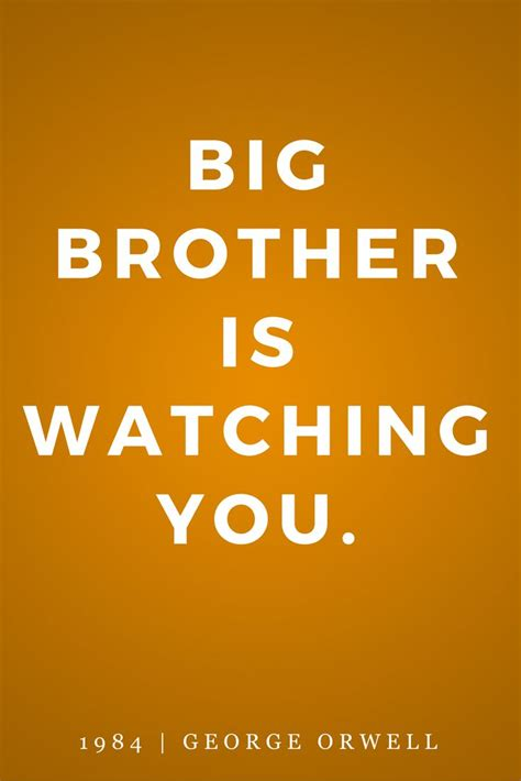 1984 Book Quotes About Big Brother