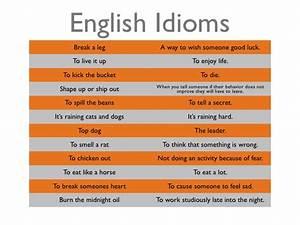 English Idioms  U2013 Matenglishblog