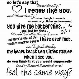 "Top 20 Great ""I Like You"" Quotes 