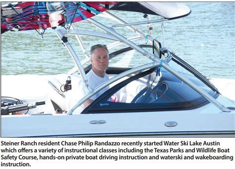 Boat Driving Area by New Company Teaches Water Sports Boat Driving Four