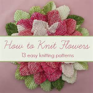 crochet baby headband how to knit flowers 13 easy knitting patterns