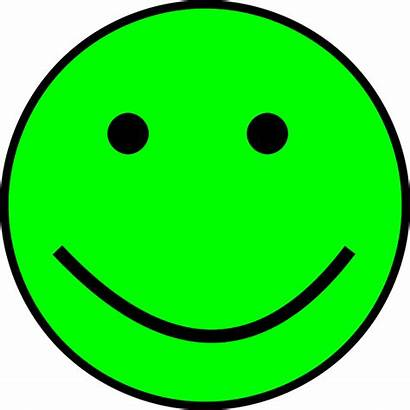 Smiley Simple Vert Pixabay Heureux Face Happy
