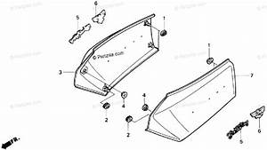 Honda Motorcycle 1988 Oem Parts Diagram For Side Cover