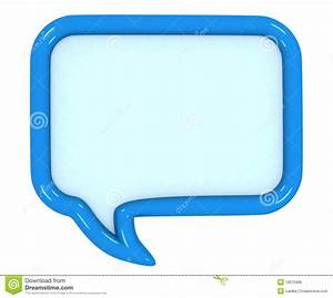 3d colored speech bubbles stock illustration. Image of ...