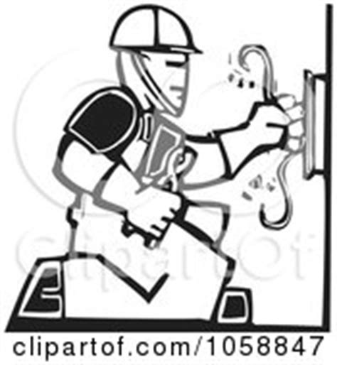 11271 electrician clipart black and white royalty free rf electrician clipart illustrations