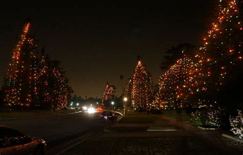 best light displays in los angeles keller