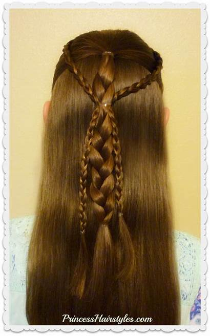 Hairstyle Easy Braids Quick Hair Hairstyles Princess