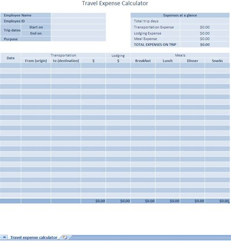 excel business expense template business expense report excel template expense report excel